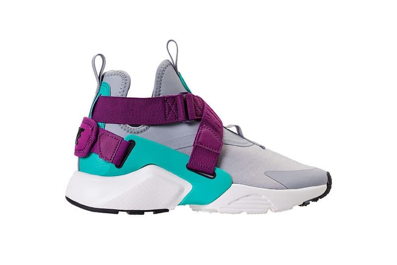 Nike Big City Huarache air colorway blue drop release date info 2018 sneaker strap new