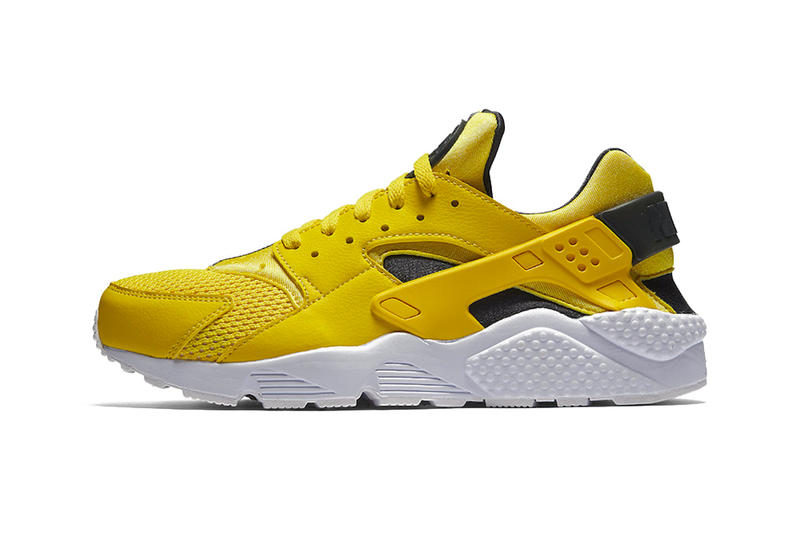 Nike Air Huarache Tour Yellow sneakers footwear 27efad745