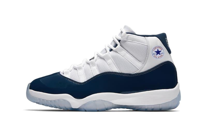 Nike Air Jordan 1 Air Jordan 11 Converse Collaboration Rumor Trainers Shoes Sneakers Kicks Michael Jordan Fastbreak basketball collaborations