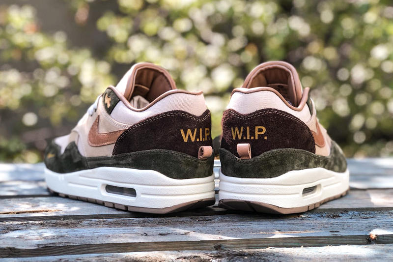 size 40 24580 0423d nike air max 1 duck canvas carhartt bespokeind custom sneakers footwear  shoes