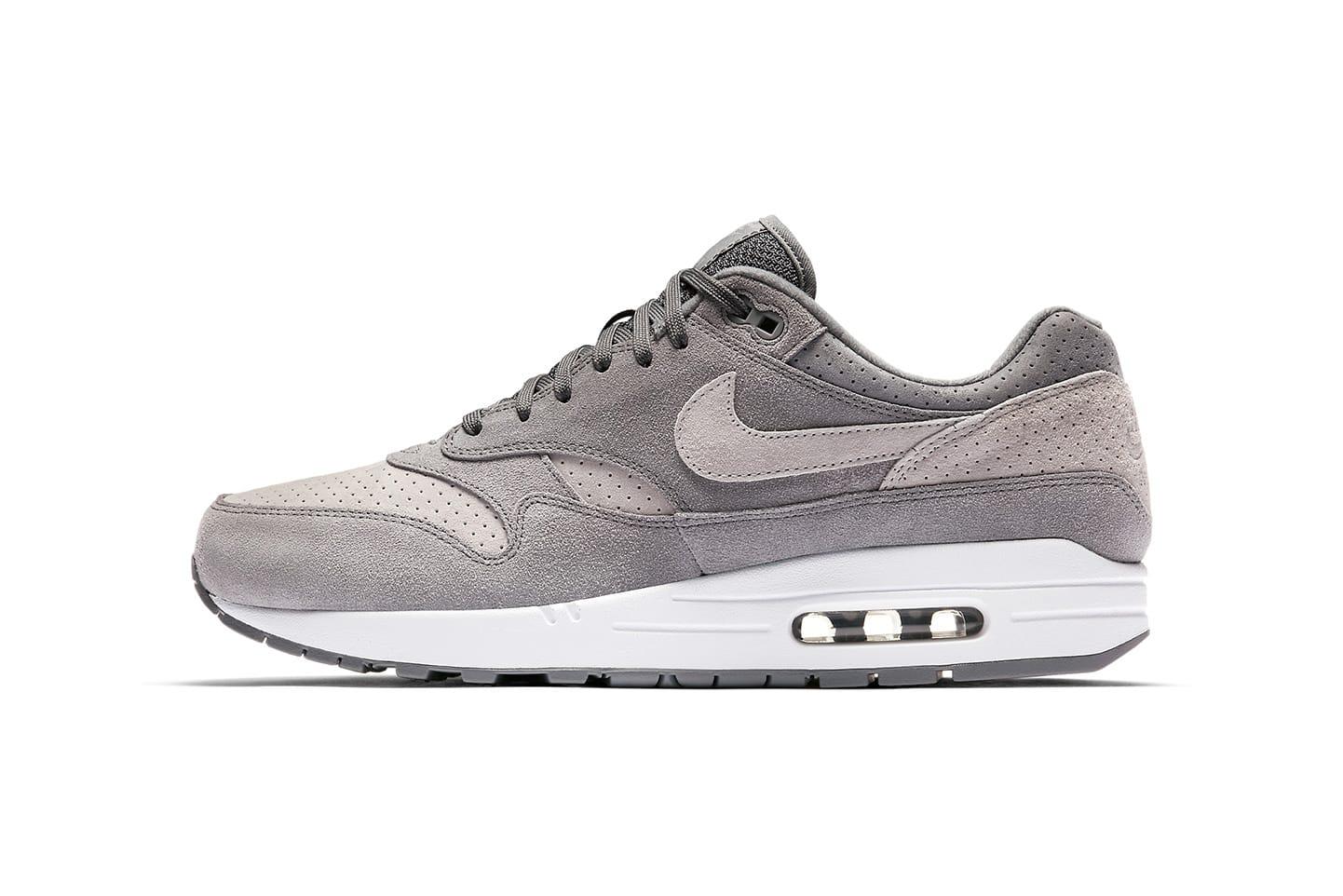 Nike Air Max 1 Premium in Grey Perf