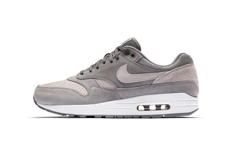 825a6da647 Nike Air Max 1 Premium in Grey Perf | HYPEBEAST