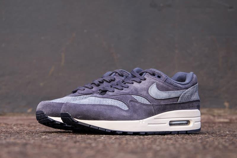 Nike Air Max 1 Premium Indigo Perf release info sneakers footwear