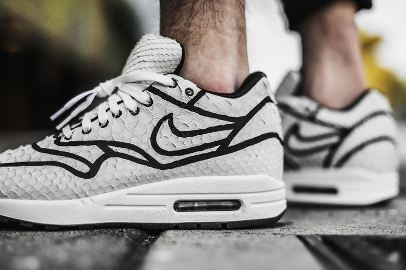 The Shoe Surgeon Josh Vides Nike Air Max 1 white black air max day collaboration march 26 2018 release date info drop sneakers shoes footwear