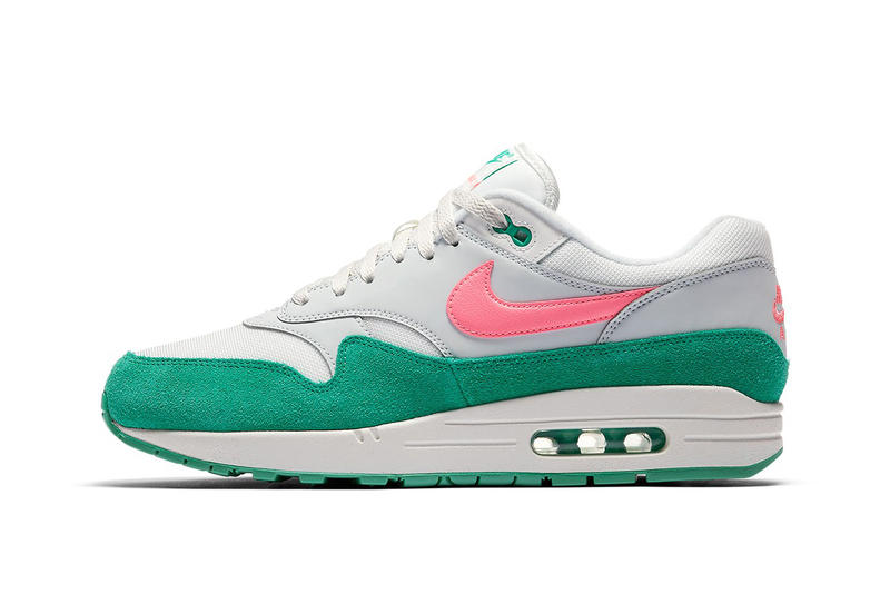 ac13d13dbc50 Nike Air Max 1 Watermelon release info Pure Platinum sunset pulse kinetic  green summit white