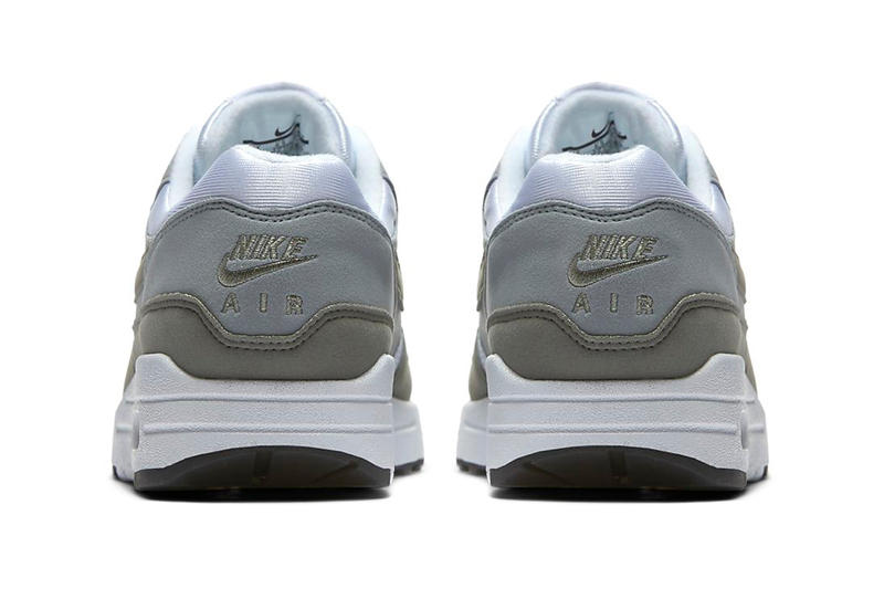 Nike Air Max 1 White Light Pumice Black Dark Stucco Colorway Patta Chlorophyll
