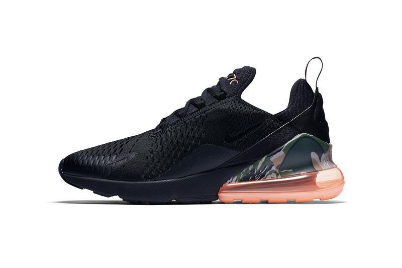 timeless design b9cd7 76c6d Nike Air Max 270 Camo Black Coral april 2018 release date info drop  sneakers shoes footwear