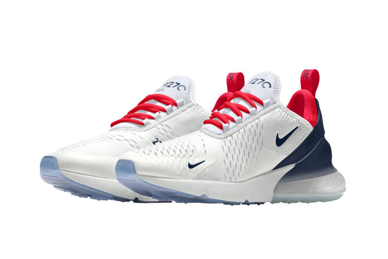 Nike Air Max 270 NIKEiD nike sportswear footwear 2018 march release date info drop shoes