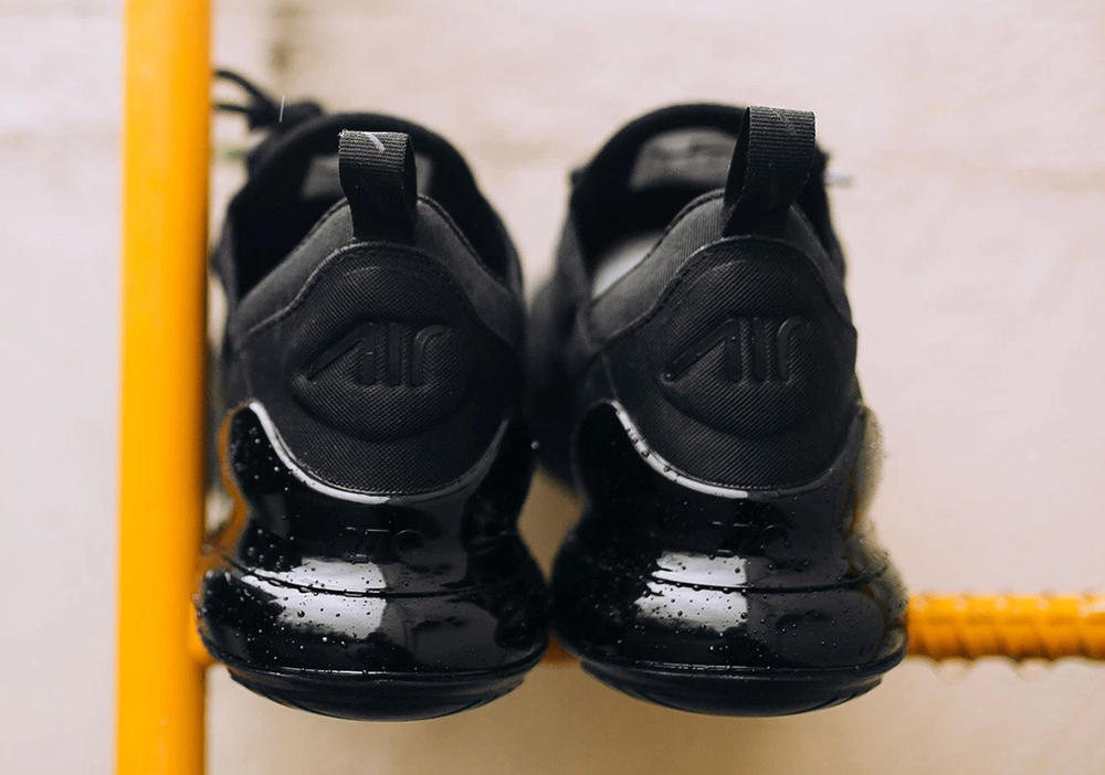 Nike Air Max 270 Triple Black Release Closer Look