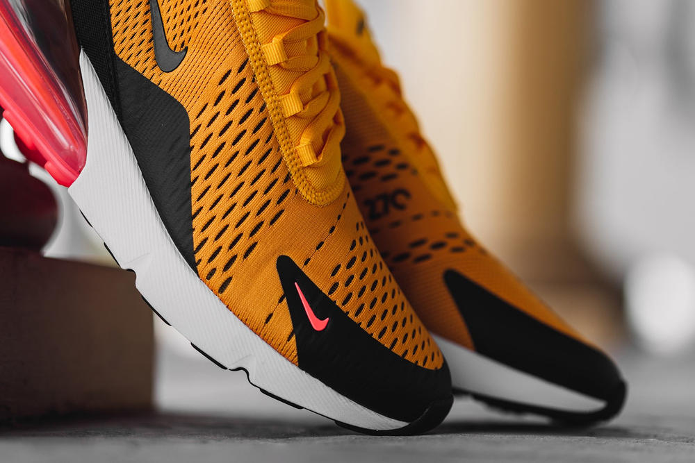 Nike Air Max 270 University Gold march 16 2018 release date info sneakers shoes footwear feature boutique