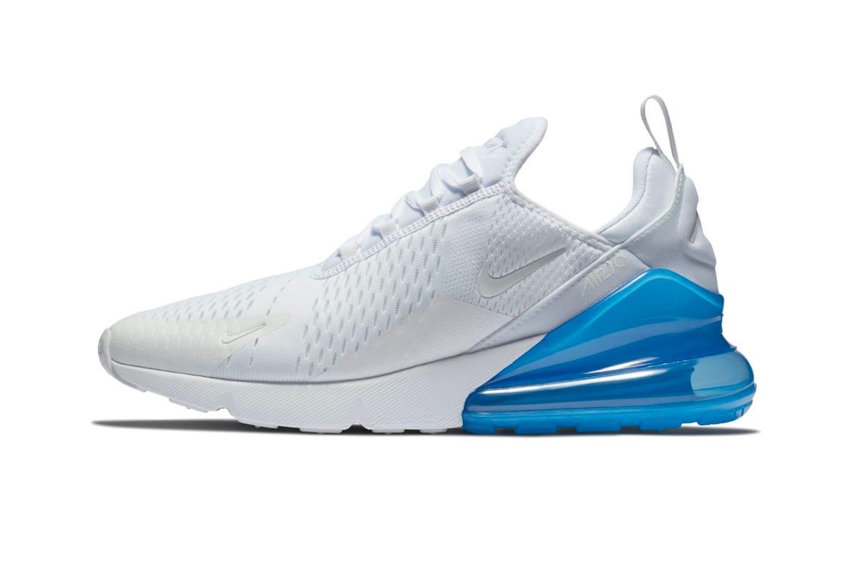 """Nike Air Max 270 """"White/Photo Blue"""