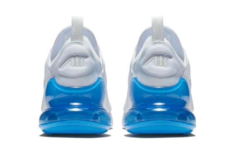 Nike Air Max 270 White Photo Blue March 26 release info air max day