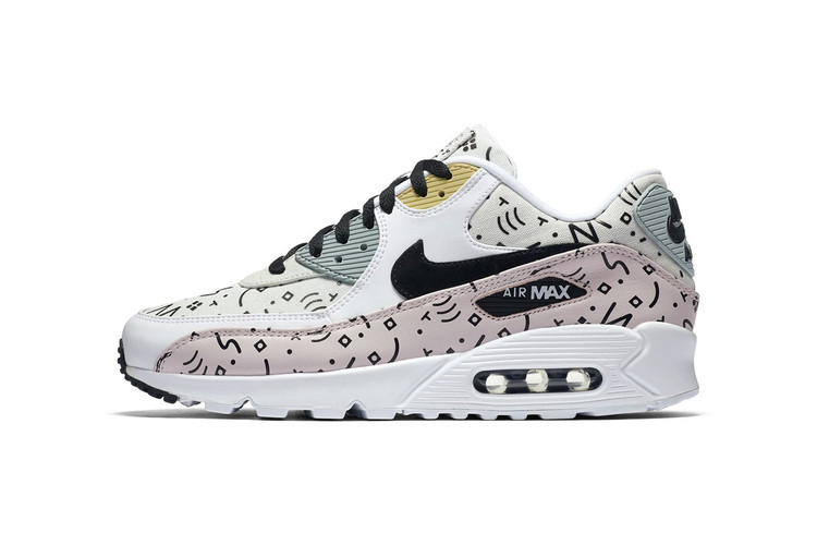 bf782c3a25c Nike Air Max 90 Premium Sports Graphics on New Pattern Pack