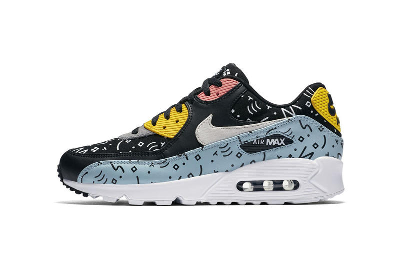 Nike Air Max 90 Premium Graphic Pattern Pack spring summer 2018 release date info sneakers shoes footwear