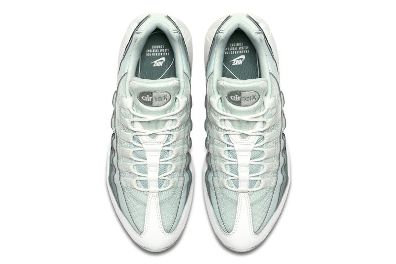 Nike Air Max 95 Clay Green Light Pumice Barely Grey footwear sneakers spring 2018