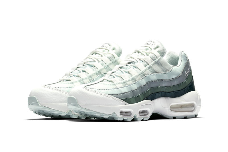 cfcb3ff363 Nike Air Max 95 Clay Green Light Pumice Barely Grey footwear sneakers  spring 2018
