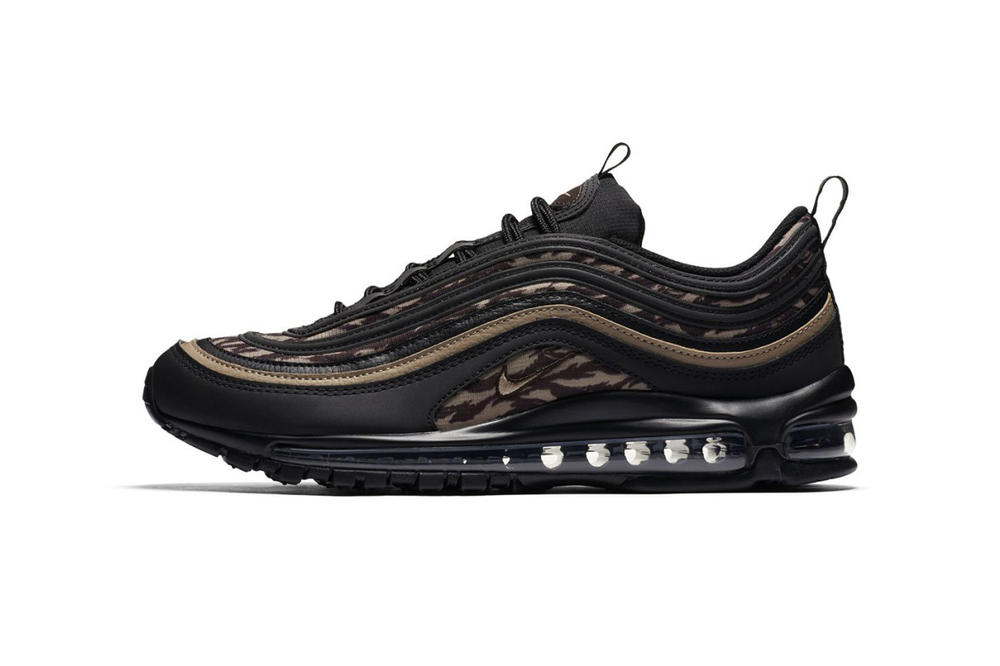 Nike Air Max 97 Camo Pack Olive Green Black march 2018 spring summer release date info sneakers shoes footwear