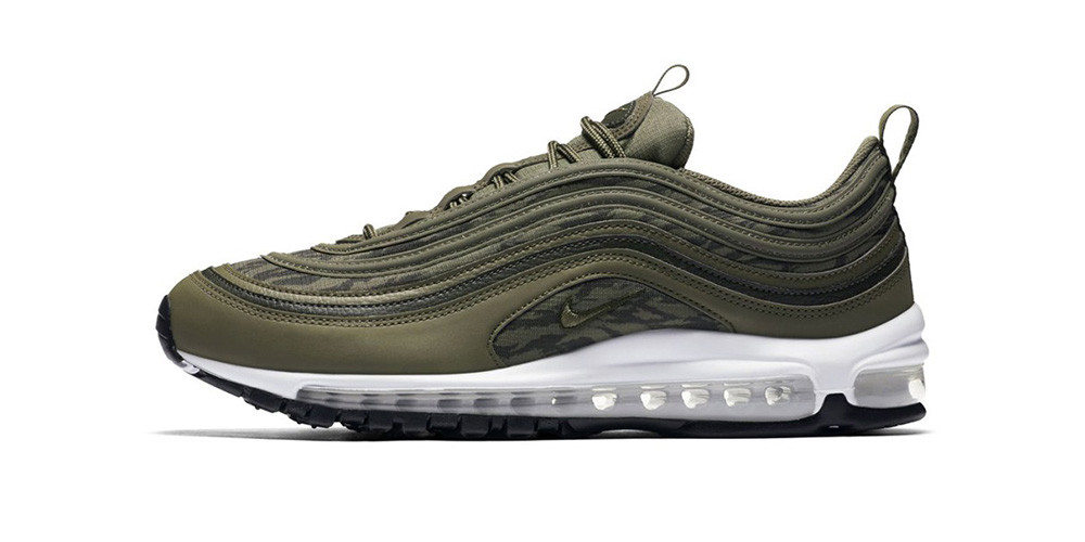 Nike Air Max 97 Camo Pack in Olive