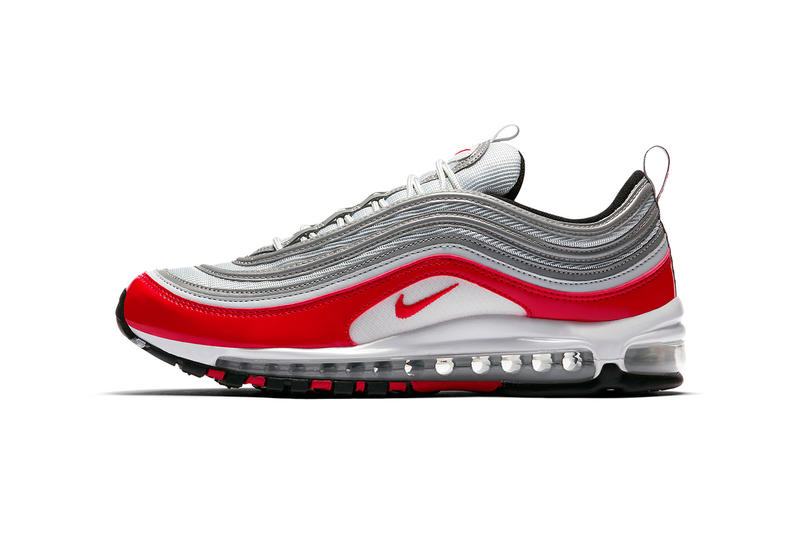 Nike Air Max 97 OG Air Max 1 AM1 Colorway red grey white 921826 009 march spring summer 2018 release date info drop sneakers shoes footwear