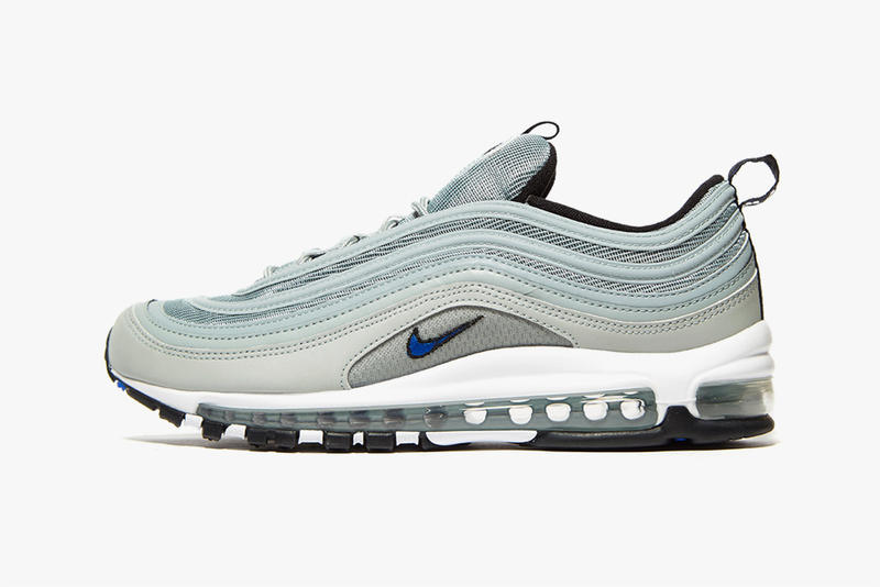 low priced eb550 f5664 Nike Air Max 97 Pumice Racer Blue Silver Bullet