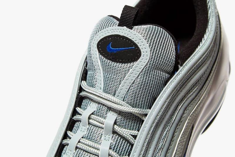 Nike Air Max 97 Pumice Racer Blue Silver Bullet