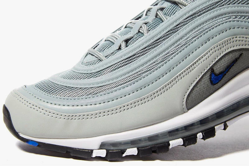 3876adf2638c Nike Air Max 97 Pumice Racer Blue Silver Bullet