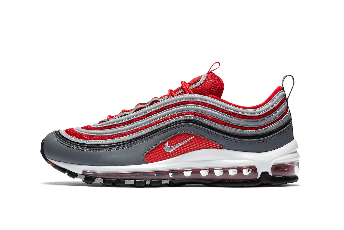 Nike Air Max 97 in Red/Grey/White/Black