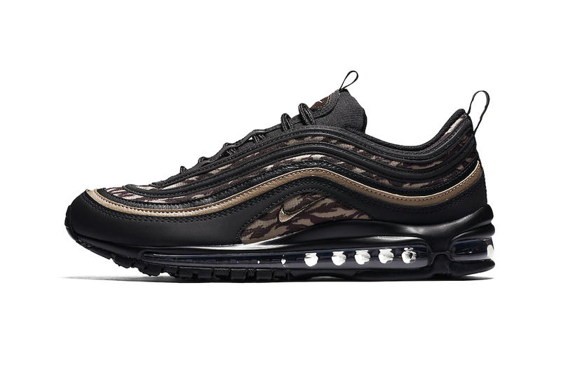 newest 31d66 137a4 Nike Air Max 97 Tiger Camo Pack Black Khaki Velvet Brown Medium Olive  Sequoia Black