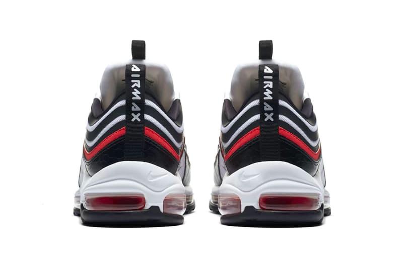 Nike Air Max 97 Ultra 17 SE leather mesh footwear sneakers black orange white brown