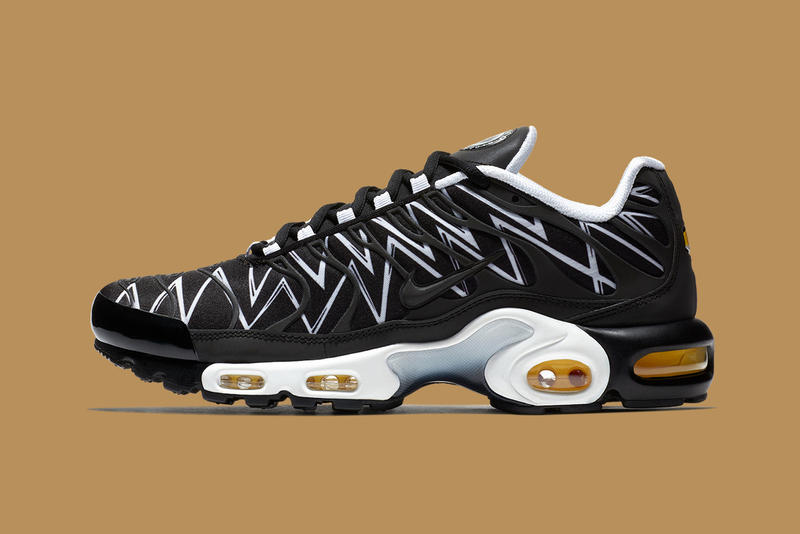 hot sale online de014 d5637 Wrapped in black and white options. nike air max plus before the bite  sneakers shoes kicks running trail Le Requin the shark