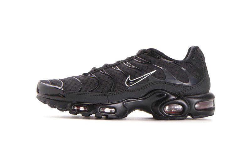 Nike Air Max Plus Black Metallic Silver march 2018 release date info drop spring summer sneakers shoes footwear tuned tn