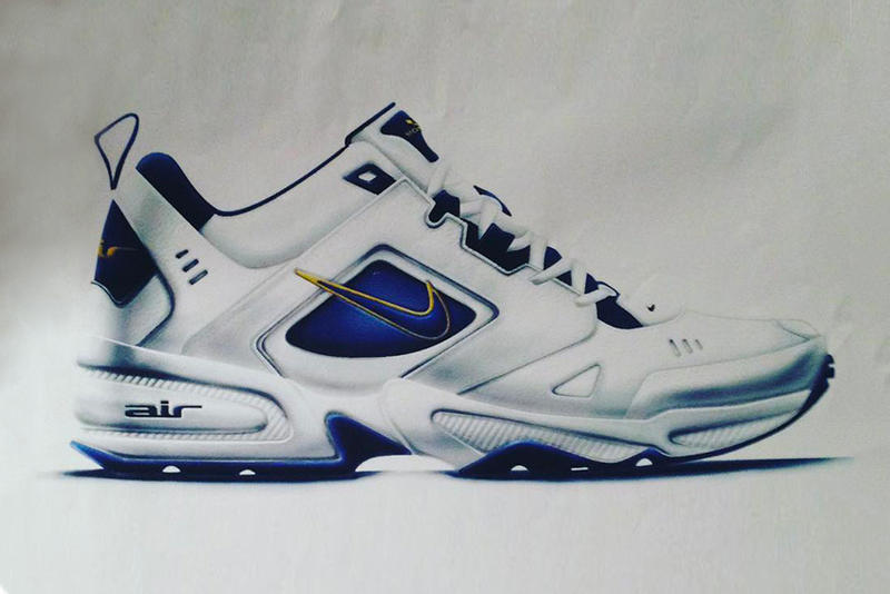 Nike Air Monarch II Early Sketch Jason Mayden
