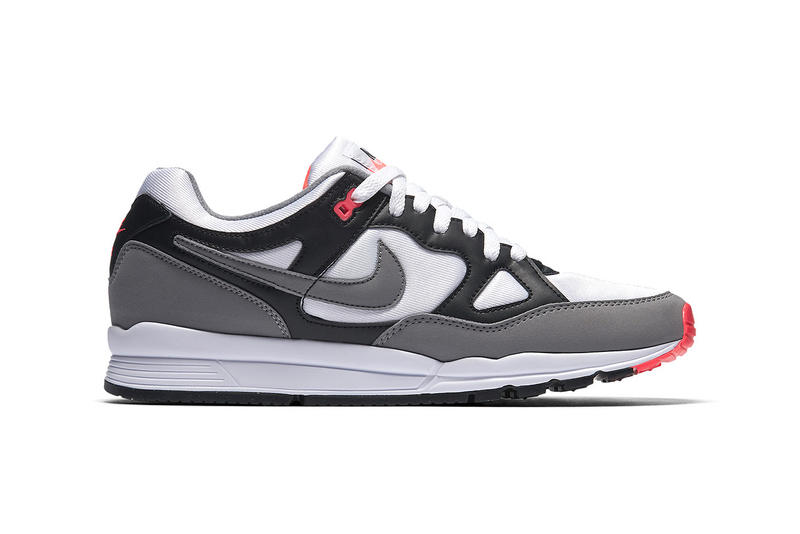 "Nike Air Span 2 ""Hot Coral"" Reissue Patta Collaboration sneaker footwear trainers gray grey black white pink red Release Date Info Pricing"