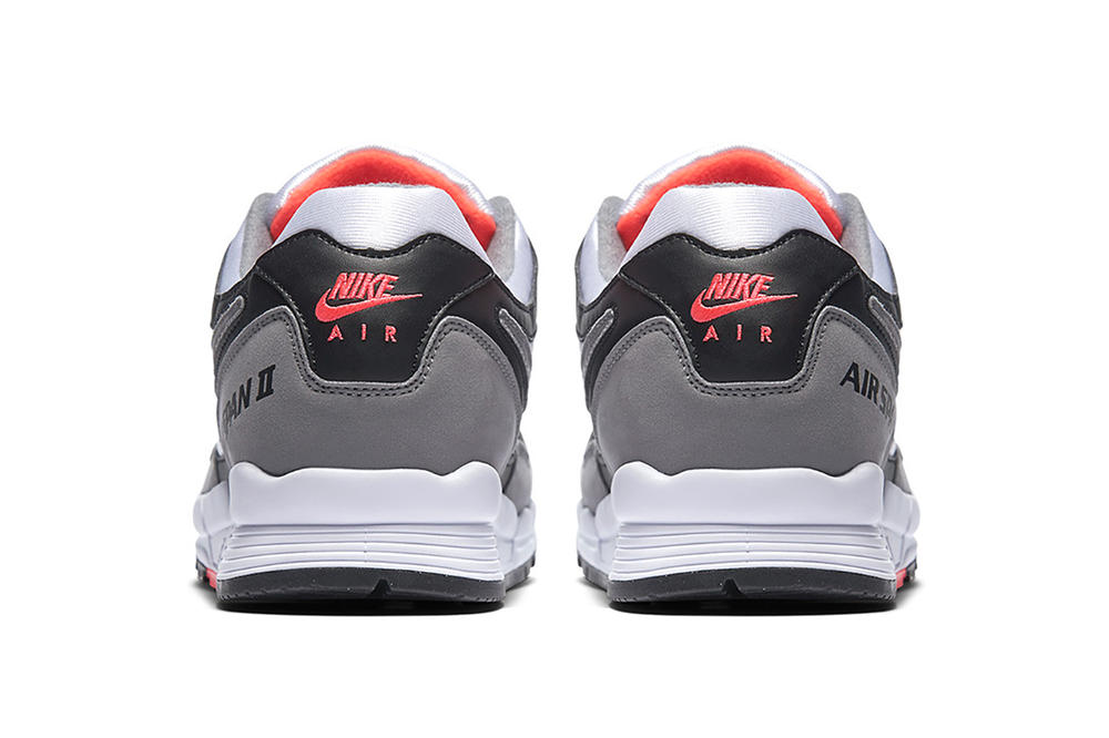 """Nike Air Span 2 """"Hot Coral"""" Reissue Patta Collaboration sneaker footwear trainers gray grey black white pink red Release Date Info Pricing"""