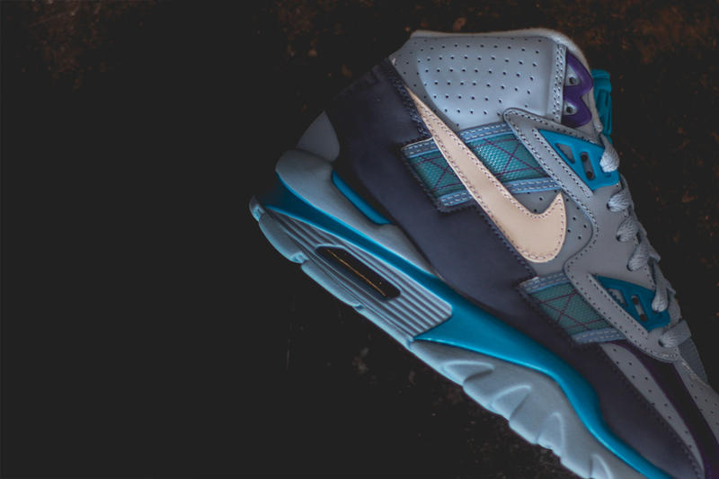 "Nike Air Trainer SC high ""Lech Blue/Neo Turquiose"" release purchase"