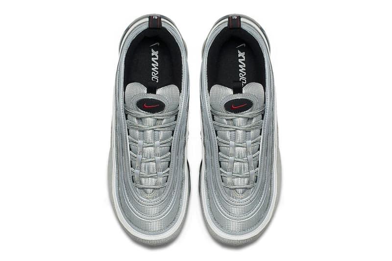 Nike Air VaporMax 97 Silver Bullet March 2018 release sneakers footwear