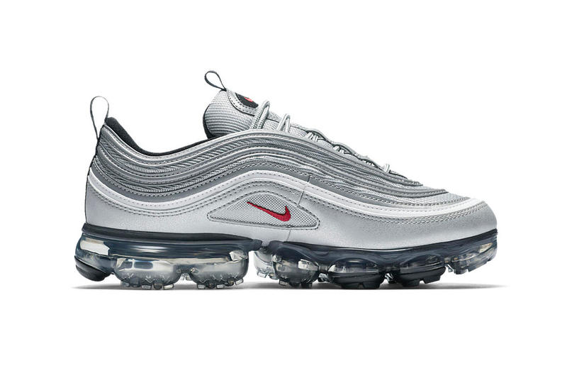 a63f9095cc Nike Air VaporMax 97 Silver Bullet March 2018 release sneakers footwear