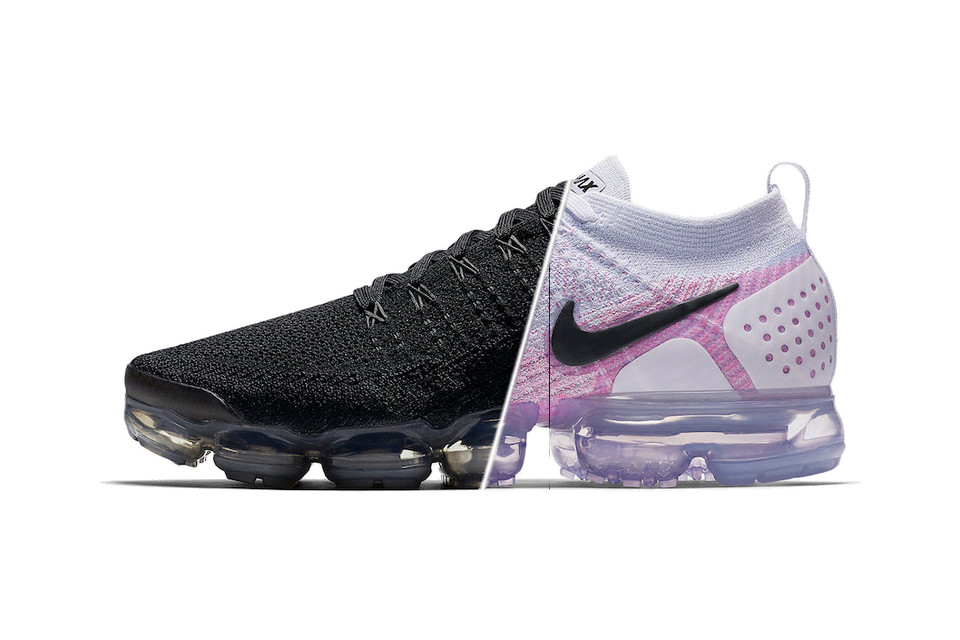 Nike Air VaporMax 2.0 Black White   Hydrogen Blue  1fa08e73c