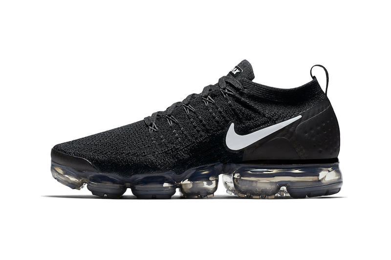 Nike Air VaporMax flyknit 2.0 Black White Hydrogen Blue grey purple  sneakers mens womens pink. 1 of 2 7d27f6c6e