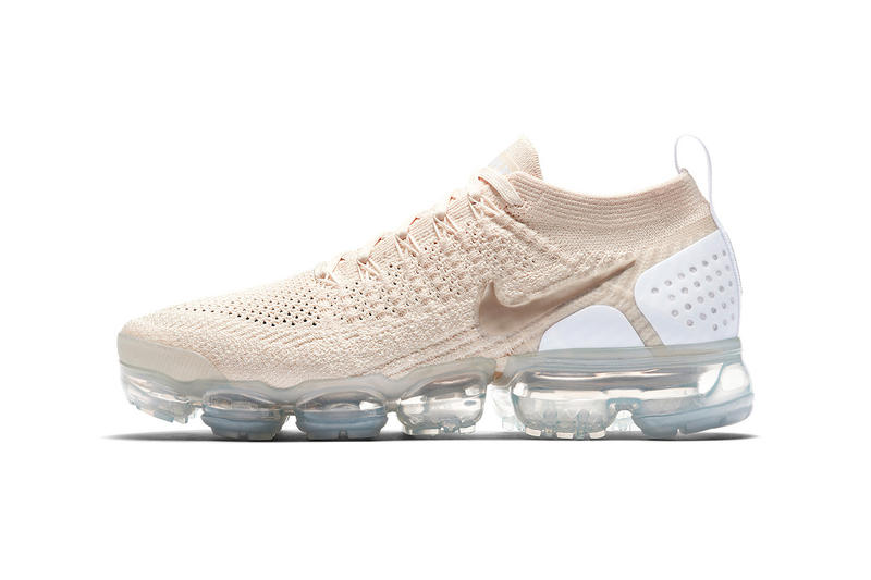 d253e74c1128a Nike Air Vapormax Flyknit 2 0 Light Cream white metallic gold 942843 201  may 2018 release