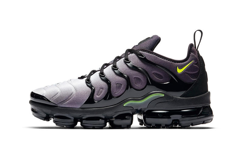 47484e22bfea Nike Air VaporMax Plus Neon footwear Nike Sportswear april 2018