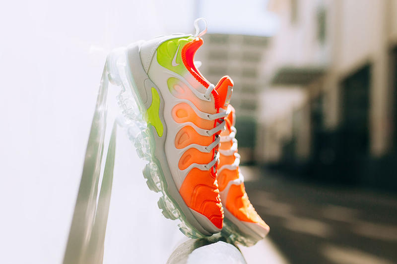 Nike Air VaporMax Plus Reverse Sunset AO4550 003 spring summer march 2018 release date info drop sneakers shoes footwear