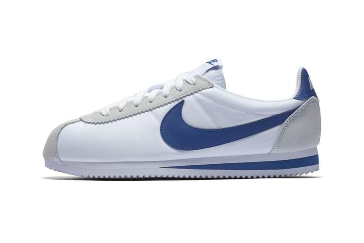 "size 40 ebff9 e7fb5 Nike Is Set to Drop a New ""White Gym Blue"" Cortez Classic"