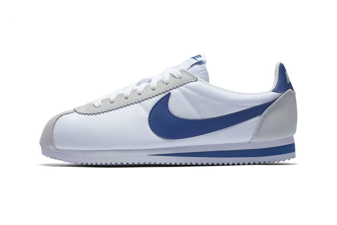 "buy popular eb6db d29c5 Nike Set to Drop New ""White/Gym Blue"" Cortez 