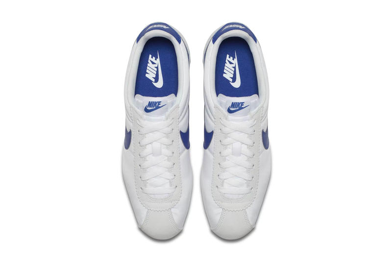 Nike Classic Cortez White Gym Blue Spring 2018 release sneakers footwear