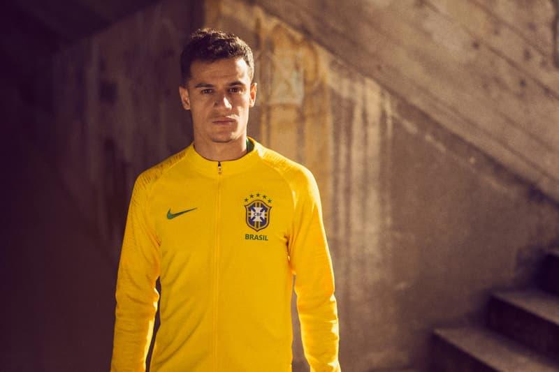 Nike Soccer Football 2018 FIFA World Cup Brazil Neymar Jr. Phillipe Coutinho kits jerseys uniforms