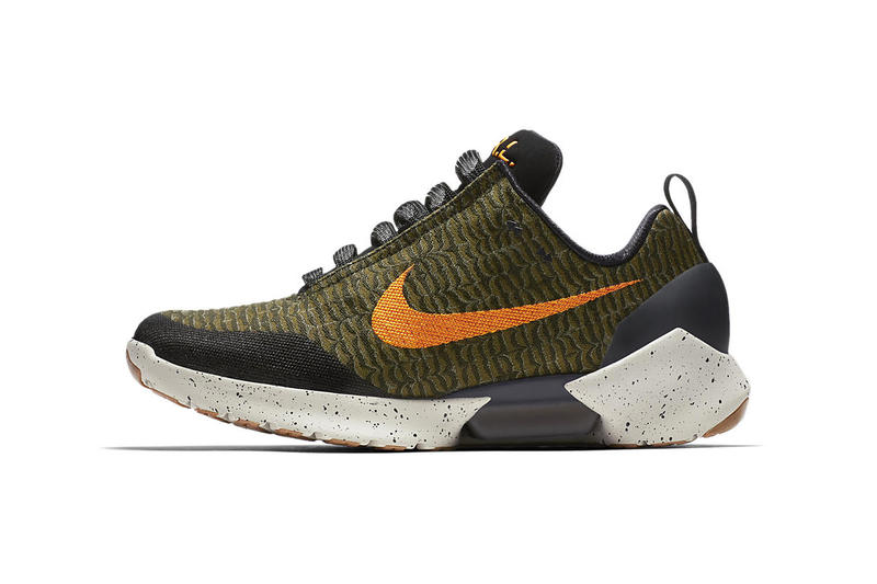 Nike Hyperadapt 1 0 Olive Flak orange black 2018 march april release date info drop japan sneakers shoes footwear