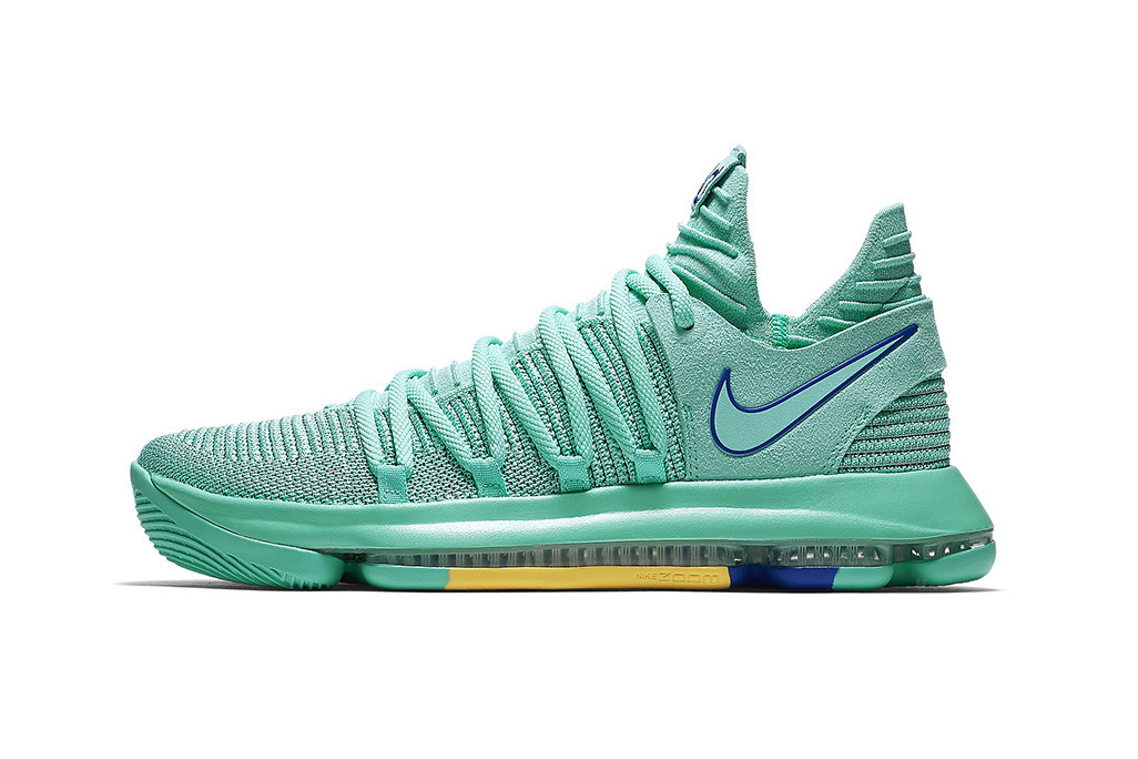 Nike KD 10 City Edition Hyper Turquoise