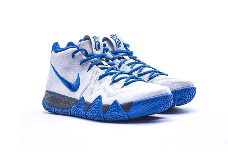 watch d561d 005a9 Nike s Kyrie 4 Dons Duke Colors for March Madness