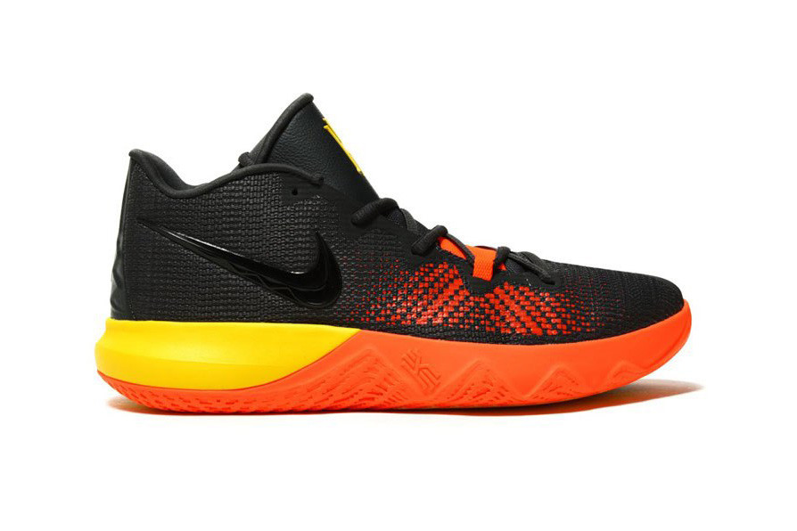kyrie irving shoes yellow orange
